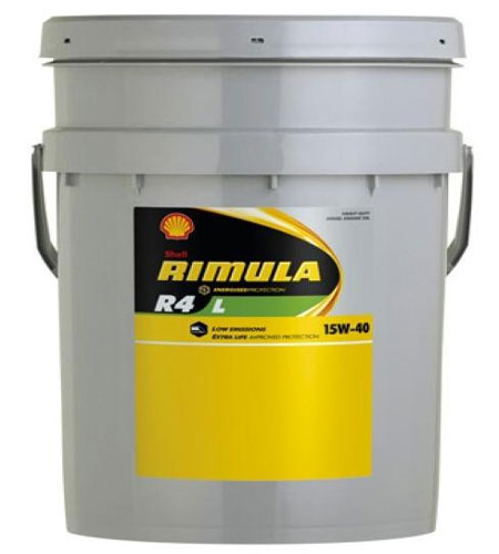 масло Shell Rimula R4 15W-40
