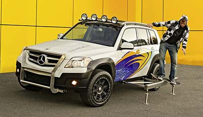 Mercedes-Benz GLK Rock Crawler